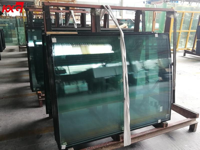 Customized Size 8mm-12A-8mm Argon Spacer Tempered Insulated Curved Glass Toughened Double Glazing Gl
