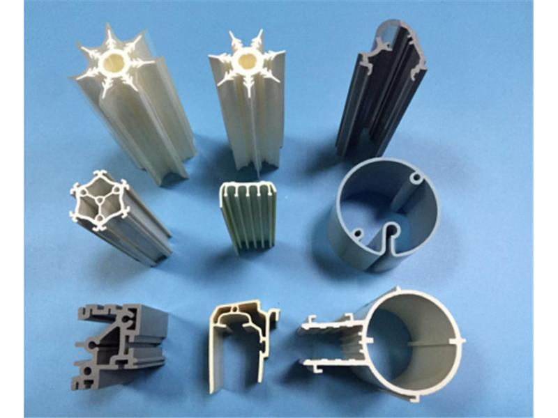 Plastic PipePP Plastic Extrusion ProfileCustomized Plastic Products