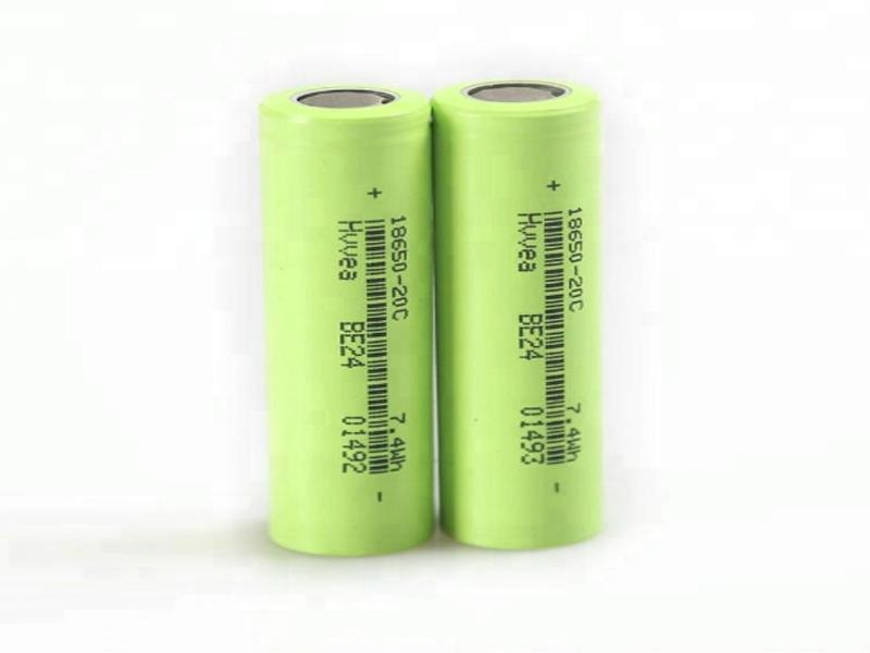 3.7V 2000mAh 18650 Rechargeable Lithium Li Ion Battery Cell Wholesale for Shaver