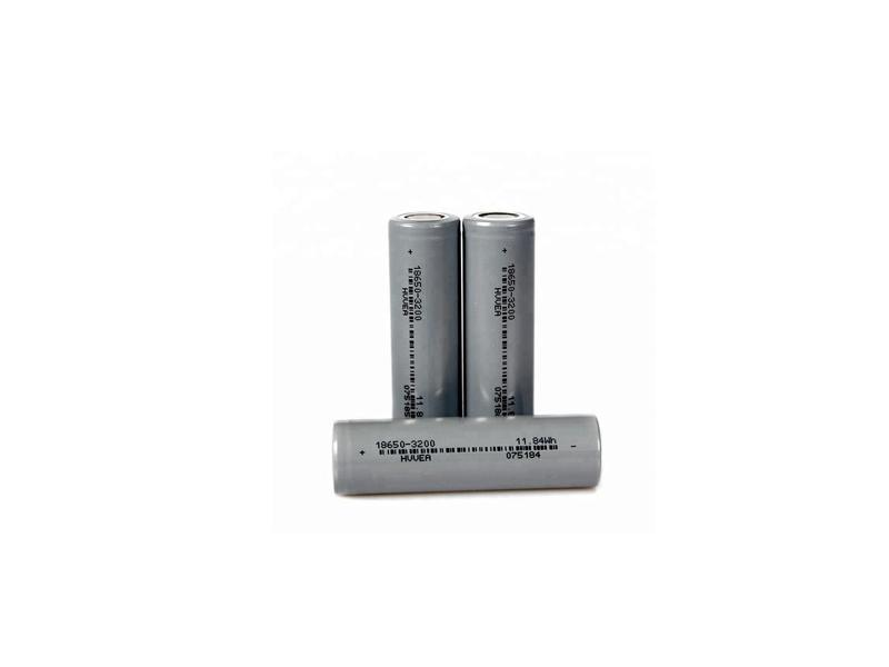 High Capacity Drained 18650 Li-ion Flashlighting Battery 3.7V 3200mah