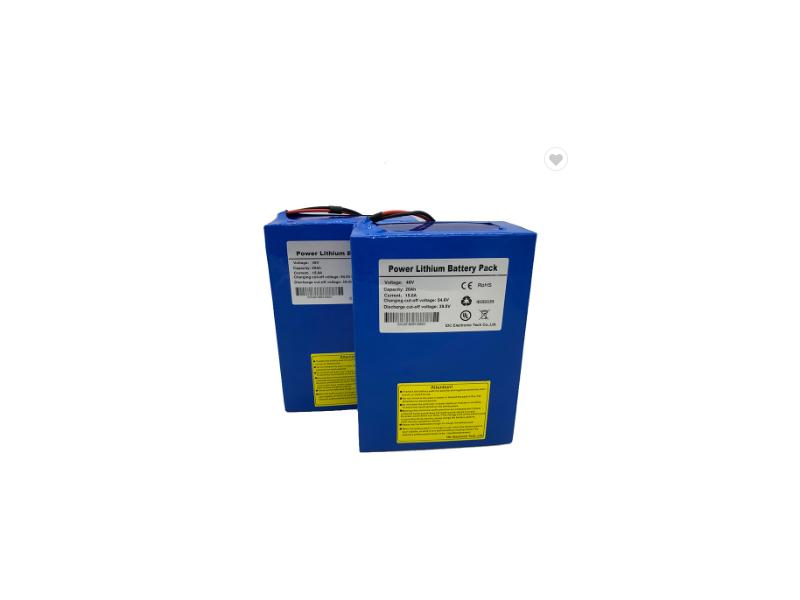 48v 20Ah Li-ion 18650 Lithium Battery Pack for Electric Floor Mopsn Customized Portable Power Supply