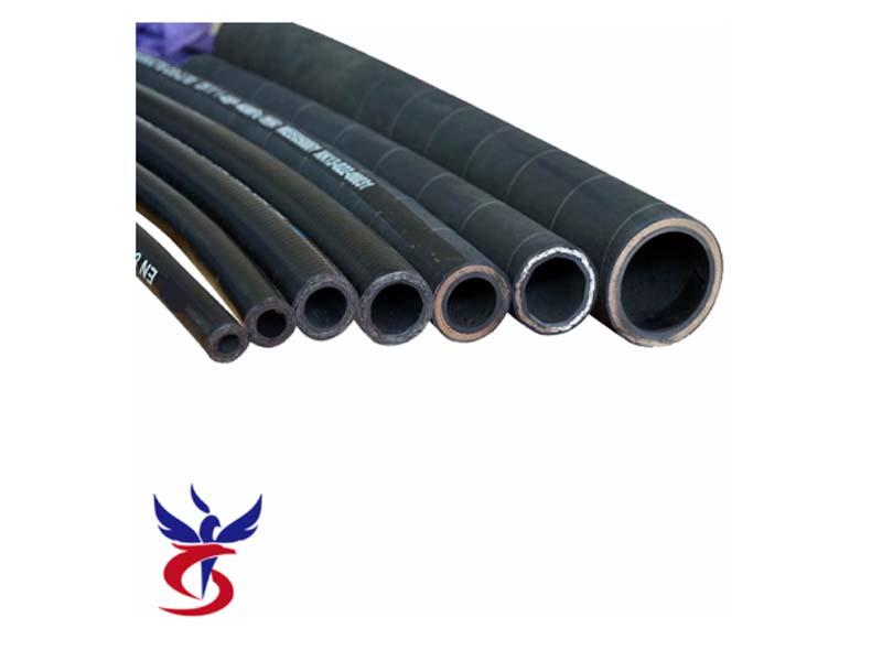 Industrial Flexible Oil Rubber Hydraulic Hose