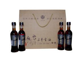 Sanfeng Sesame Oil Sauce Gift Package  3  (Black Sesame Product)