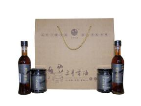 Sanfeng Sesame Oil Sauce Gift Package  2  (Black Sesame Product)