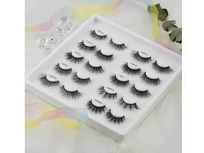 Silk Mink Wholesale Eyelashes 3D Faux Mink Private Label False Eyelashes 3D Faux Mink Hair Crisscros