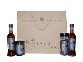 Sanfeng Sesame Oil Sauce Gift Package(Black Sesame Product)