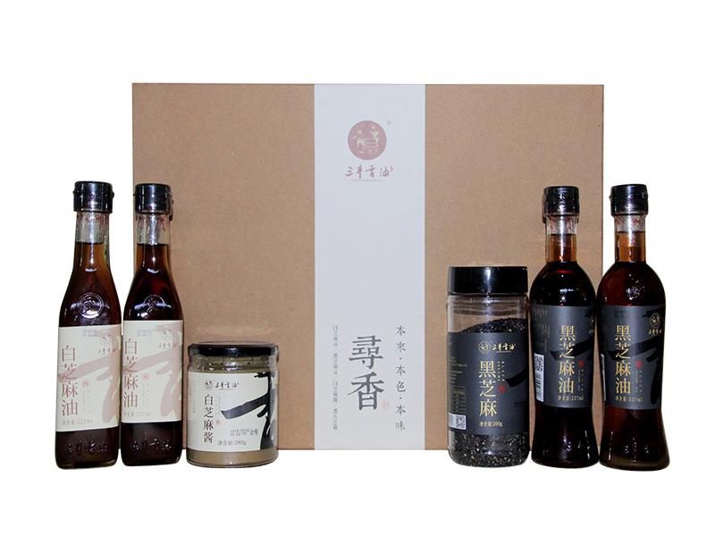 Gift Pack Seasoning Brand Bulk Sesame Oil (Integrated Product)