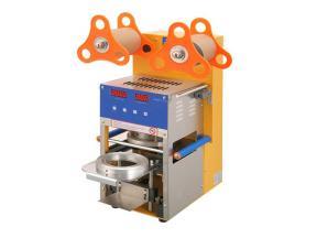 Wholesale CE Approved Plastic Bubble Tea Cup Sealing Machine