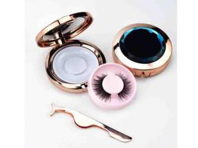 Natural Long 3D Mink Eyelashes Vendor 25mm Mink Lashes 25mm Mink Eyelash with Custom Logo Eyelash Ca