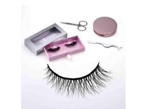 Wispy Mink Eyelash Book Fluffy 3D Mink Eyelashes Bulk 100% 3D Mink Custom Eyelash Packaging