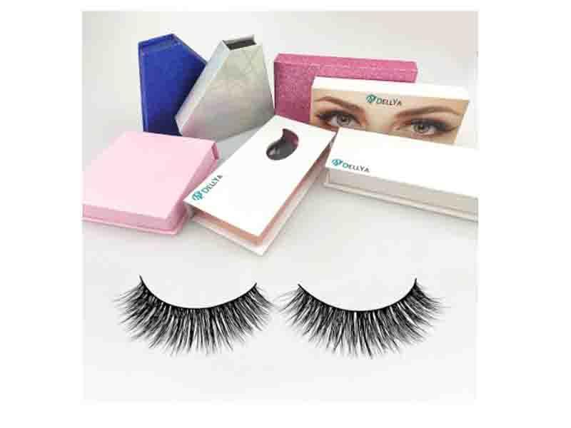 Silk Eyelashes Private Label Korean 3D Silk Faux Mink False Eyelashes Vendors