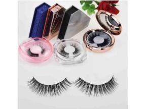 Synthetic Silk Lashes Fluffy Premium Silk Lashes Faux Mink Korea Silk Lash Best Quality Individual E