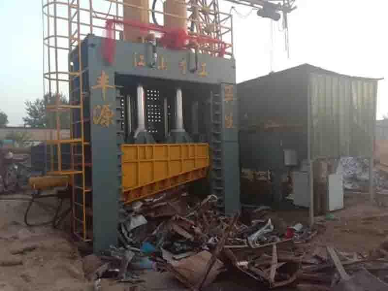 Full Automatic Hydraulic Heavy Waste Gantry Shear