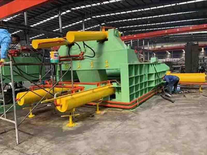 Hydraulic Fully Automatic Metal Scrap Stamping