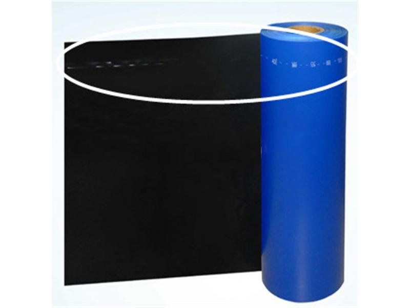 Breakpoint PE Release Film Building Waterproof Materials Release Film PE Film 1side Coating Silicon