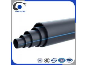 Plumbing Materials Black Plastic Polyethylene 8 Inch PE 100 HDPE Water Pipe Manufacture Prices