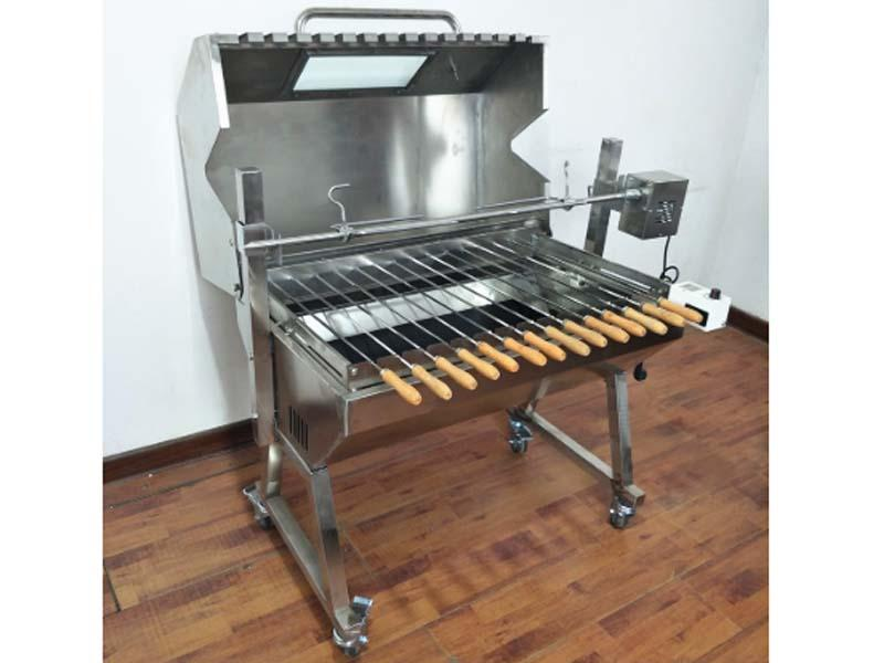 Smoker BBQ Infrared Rotisserie Chicken Burner Grill with Rotisserie for Sale