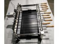 Simple Skewers Machine Camping Cyprus Grill Rotisserie Motor with Carbon Slot