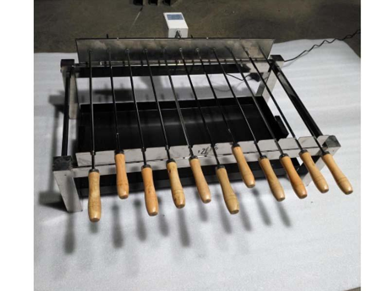Flam Coals BBQ Spit Kebab Kit Cyprus Grill Deluxe Auto Motor
