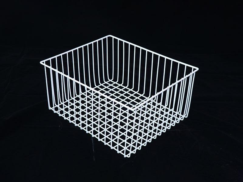 Multifunction Metal Wire Iron Mesh Powdered Coating Freezer Storage Basket