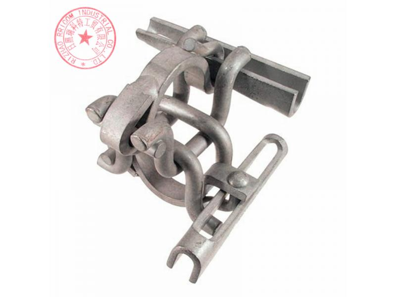 Galvanized Scaffolding Double Rod Clamps