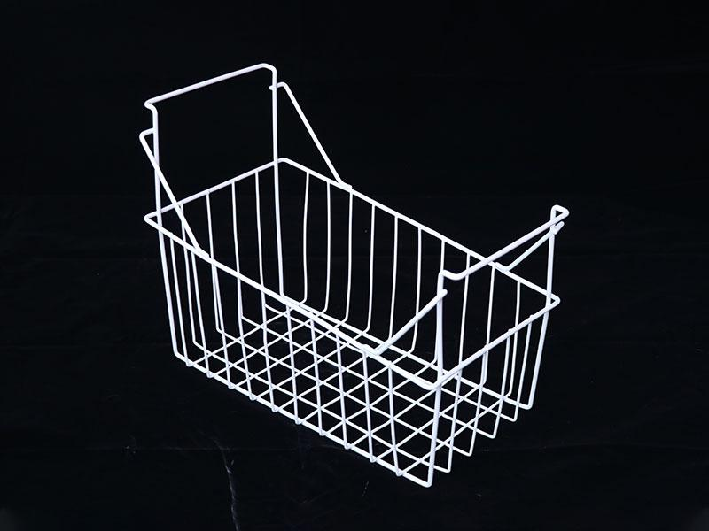 White Wire Mesh Freezer Basket with High Quality