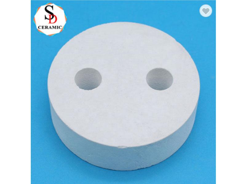 Manufacturer Electrothermal High Temperature Resistance Porous Mullite Ceramics Plate Heating Elemen