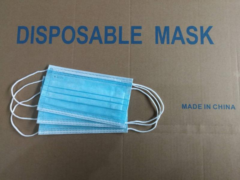 Unisex Disposable 3ply Face Mask for Sale