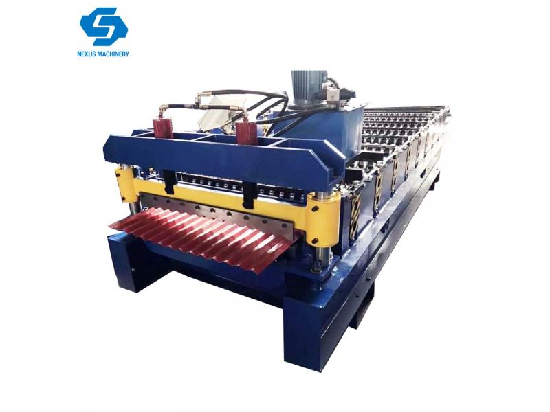 Iron Sheet Corrugated Roof Sheet Roll Forming Machine