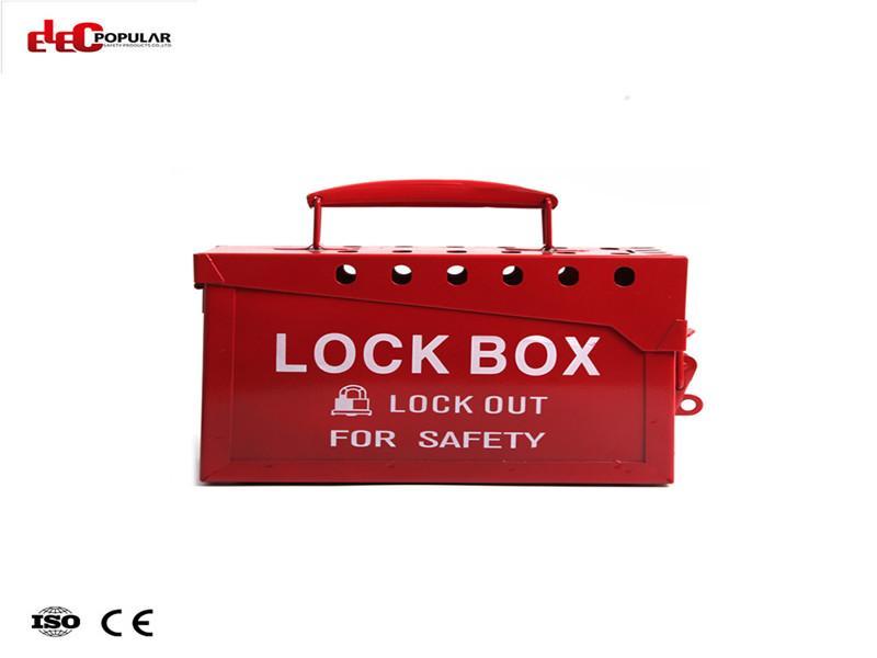 Metal Portable Lock BOXEP-8812 Lockout Box and KitGroup Lockout Box