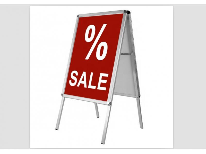 Outdoor Advertising Board Exhibition Snap Frame A Frame Sign A1/A2/A3