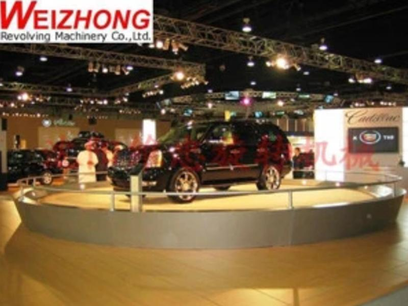 Weizhong Revolving Plaform Car Turntable