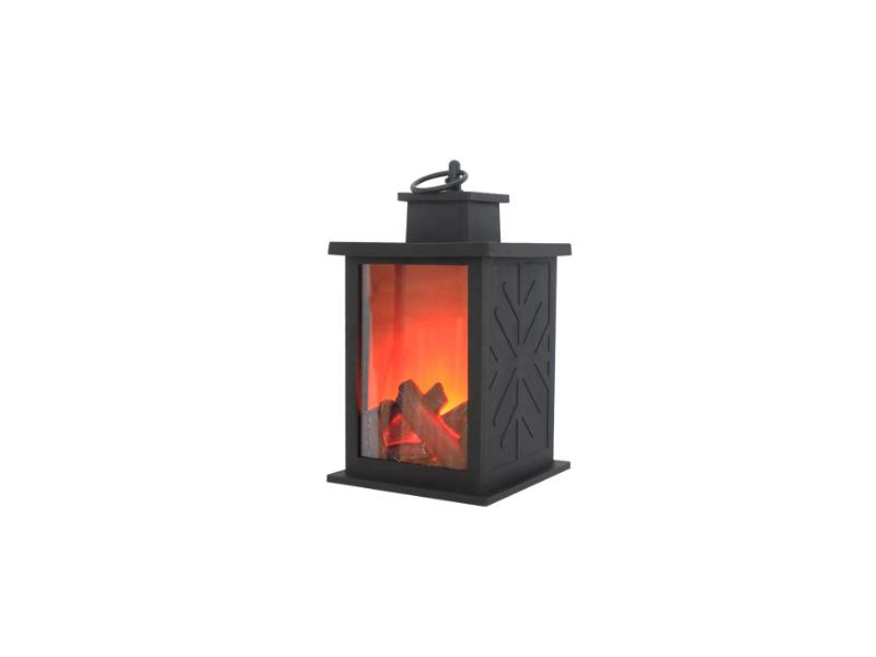 Flickering Indoor Outdoor Fireplace Flame Lantern Lampara LED with Timer Home&Garden Decoration