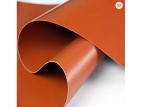 PVC Red Mud Biogas Fabric Airtightness Flexible Fabric for Biogas Tank Digester Balloon