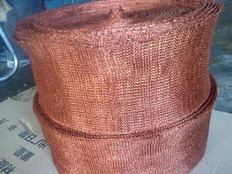 Red Copper Liquid Filter Mesh