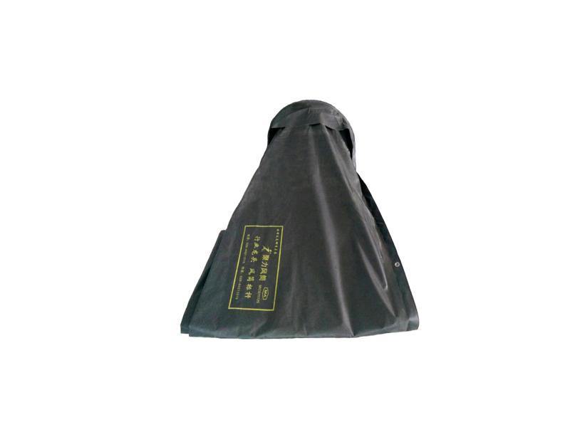 Customized Flexible Round Black High Pressure Coal Mine Ventilation Air Vent Duct