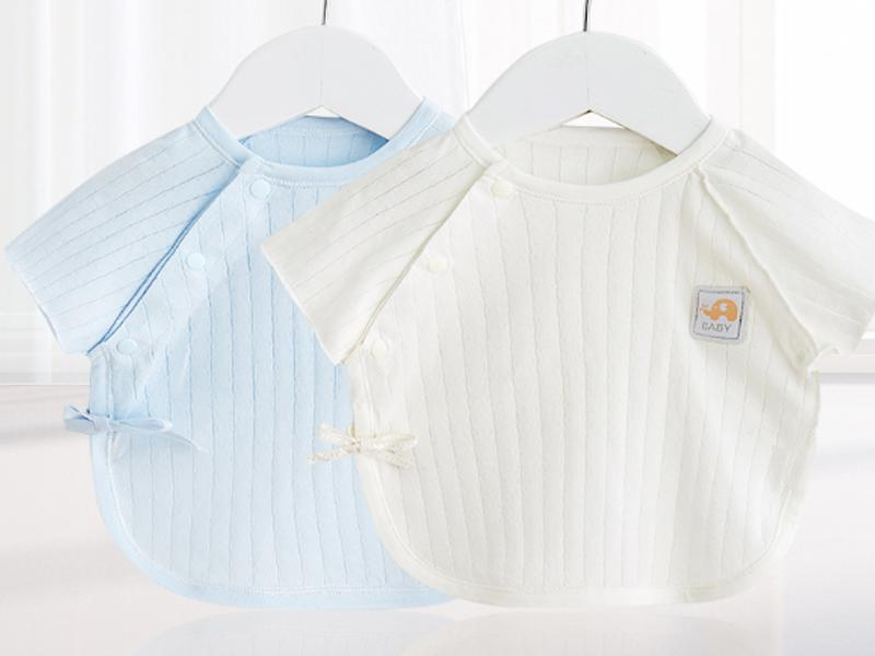 Baby Short Sleeve Underwear Half Back