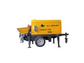 Electric Trailer Concrete Pump New Mobile Concrete Pump