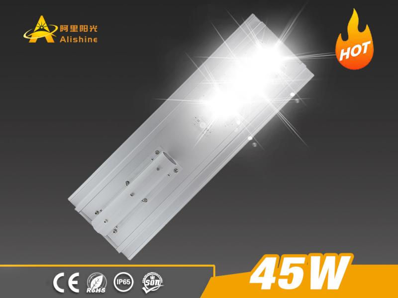 IP65 Water Proof 45W-150W Aluminum Solar Motion Sensor Street Light
