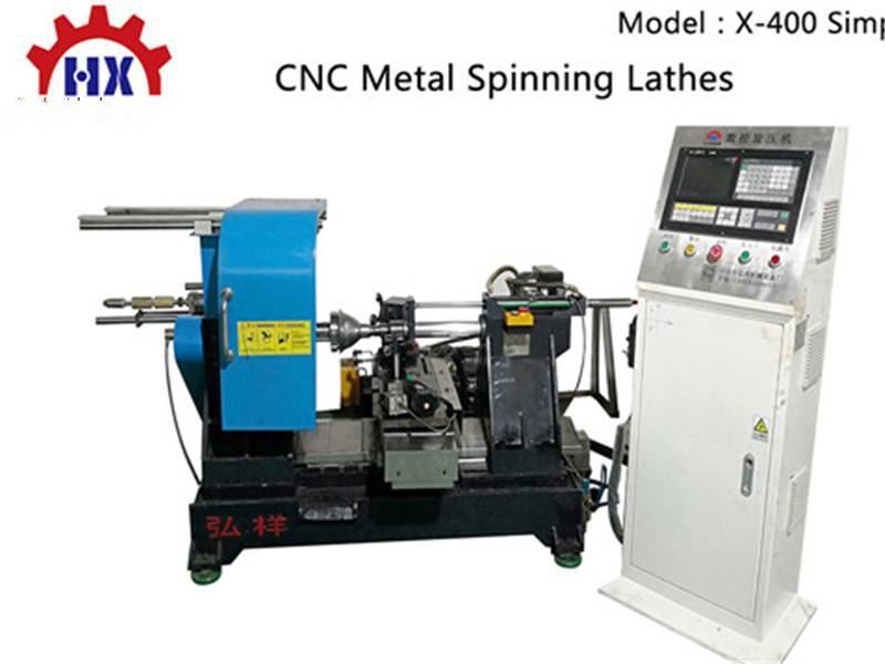 High Speed Series CNC Metal Lamp Shape Spinning Machin