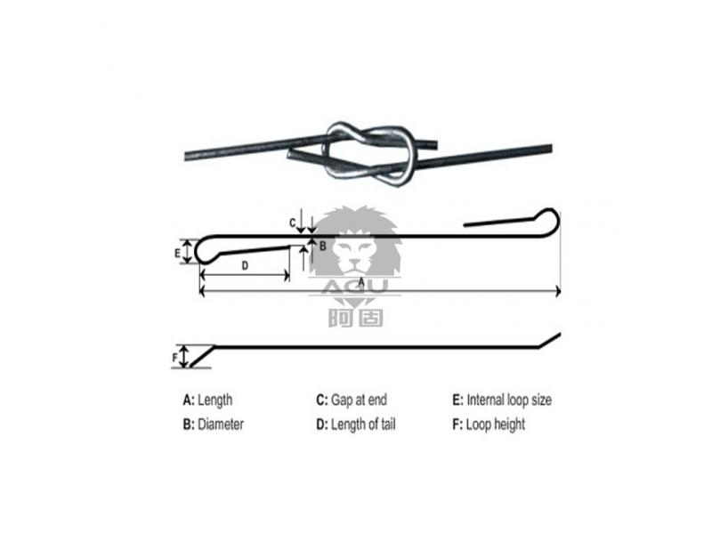 Phosphated Quick Link Cotton Bale Ties