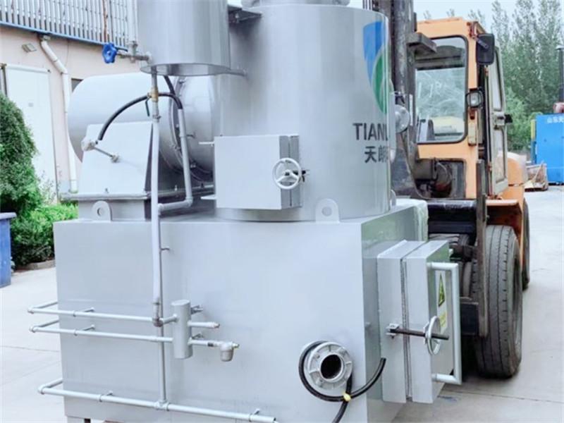 Smokeless Hazardous Waste Incineration Machine Incinerator