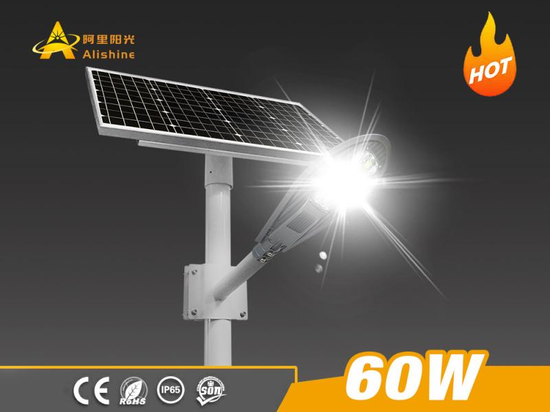 20-80W Sword Shape All in Two Solar Street Light Hot Selling in Philippines