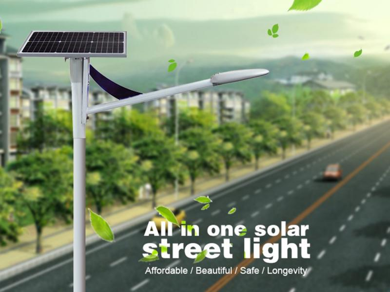 20-80W All in Two Solar Street Light