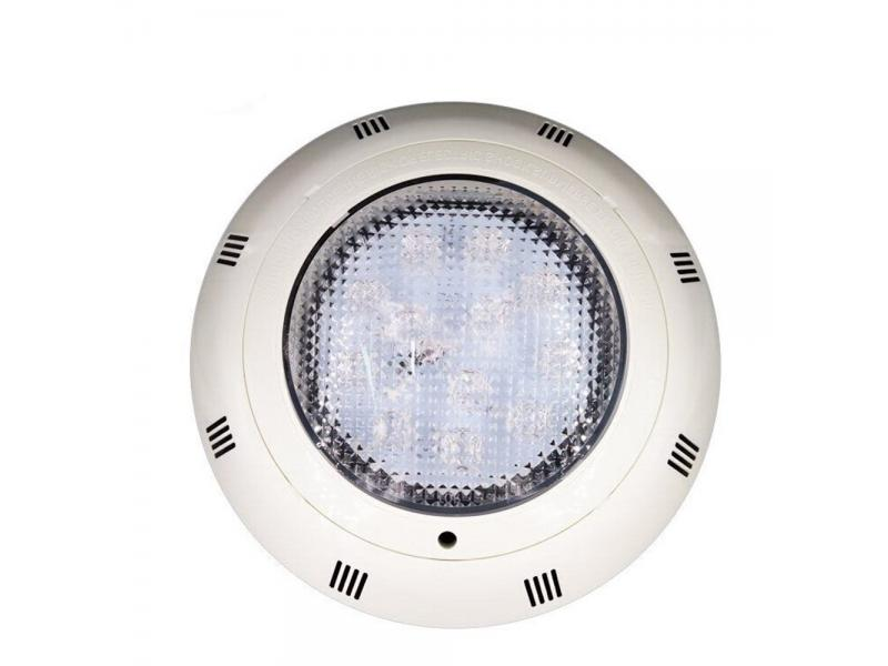 Wall Mounted ABS Plastic 12W-54W Single Color/ RGB IP68 Waterproof LED Pool Light