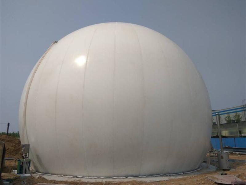 Double Membrane Biogas Storage Balloon