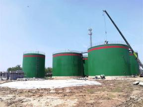 Large-Scale Biogas Plant for Sugarcane Bagasse Treatment