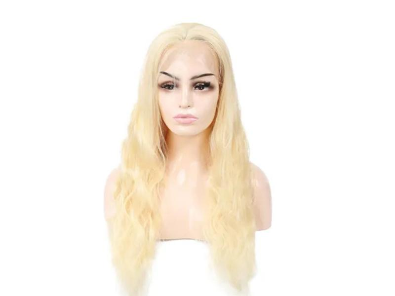 European Remy Human Hair 613 Blondefull Lace Wig Body Wave Human Hair Wigs, Wholesale Popular Wigs H