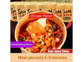 Pinzheng Wholesale Instant Sweet Potato Noodles Haichijia Hot and Sour Vermicelli Suan La Fen Instan