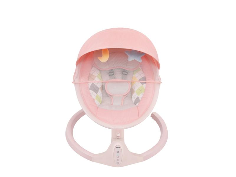 Wholesale Colourful Automatic Infant Swing with Adjustable Swing Angle